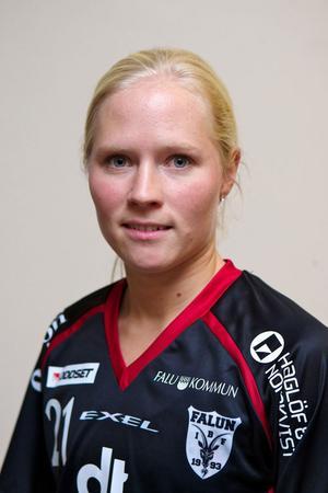Malin Dalbjer blev fyramålsskytt när IBF Falun, med nöd och näppe, besegrade bottenlaget Jönköping med 8–7.