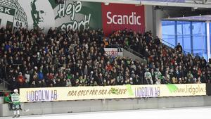 Bandypublik i Västerås.