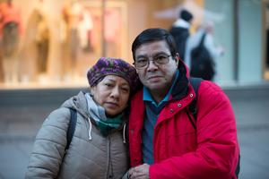 Gerardo och Griselda Galleguillos.