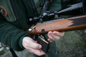 En passkytt ska ha skjutit en jägare från Hälsingland (genrebild).