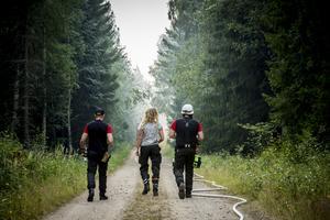 Bilder från branden i Tovåsen, sommaren 2018, som härjade på drygt 300 hektar skog.