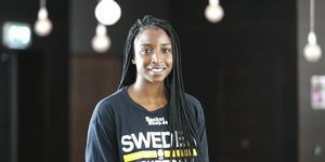 Binta Drammeh tog två SM-guld med Telge och har de senaste sju åren spelat utomlands.