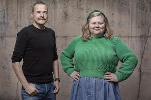 Marcus Berglund och Karin G Jonsson.