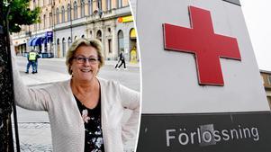 Hälso- och sjukvårdsnämndens ordförande Lena Asplund (M) säger att löneförhandlingar är inget som hon som som politiker kan påverka, med anledningen av barnmorskornas krav om högre löner.