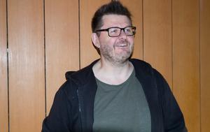 Dåvarande Aseas biograf kommer antagligen att heta Melkerbiografen under Live at Heart. På bilden syns Mikael Gottberg, arrangör.