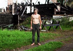 Klint-Olle är en av personerna som porträtteras i Johanna Syréns bilder i utställningen Växlingar. Foto: Johanna Syrén