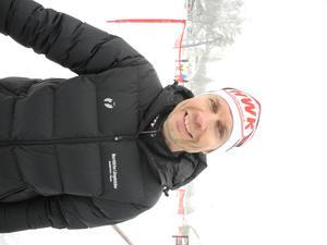 Magnus Hult, ordförande för Norrbärke SK, var nöjd med premiärupplagan av aktivitetsdagen.