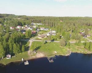 Strandvägen i Vansbro bäst i länet.Foto: Postkodlotteriet