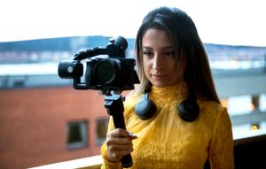 Aileen Lilja fick hjälp av Petter att sälja sin dokumentärfilm om Otto Wallin till CMore och Sportkanalen.