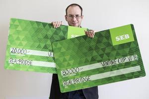 Arkivbild på Olle Lundberg 2015 när idéen till Realbridge prisades.
