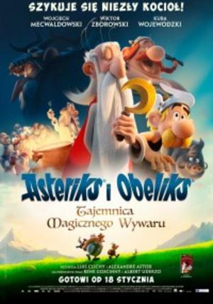 Pressbild. Asterix och Obelix är också tillbaka, till förmodligen allas glädje.