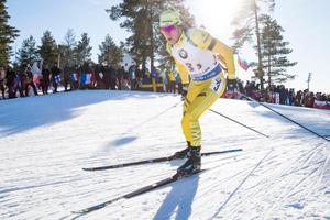 Sebastian Samuelsson nådde ingen skrällplats på SM.