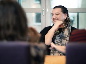 Marcus Hellsten, chef på Folkteatern i Gävleborg, hade förhoppningar på kultursamverkansmodellen men ser att den inte har nått sin fulla potential. Bild: Arkivbild