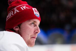 Victor Brattström blev förste spelare att presenteras av Timrå IK inför säsongen i Hockeyallsvenskan nästa vinter. Bild: Andreas L Eriksson/Bildbyrån