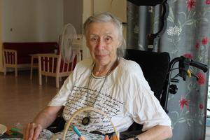 Birgitta på Daggrosens äldreboende önskar sig luftkonditionering.
