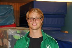 Dennis Tapper är vice ordförande i Gymnastiksällskapet. Han hoppas att klubben ska hitta en lösning på lokalproblemet.