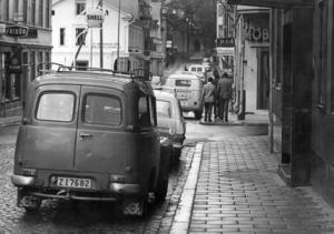 1967. Längst bort skymtar fängelset, som revs 1970. Fotograf: ÖP arkiv