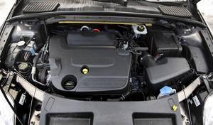KRAFTFULL.  Den fyrcylindriga 2,0-litersdieseln på 163 hästkrafter är en kraftkälla.