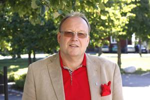 Hans Granlund, förstanamn på Vänsterpartiets valsedel i Fagersta.