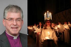 Biskop Åke Bonnier skriver på Luciadagen om hur Lucia påminner om flickors utsatthet.