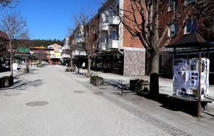 Centraltorget i Ånge.