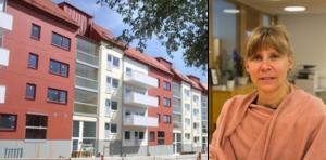 Bygget av de nya hyresrätterna vid Nynäsvägen har i någon mån bidragit till att minska kötiden för en lägenhet i