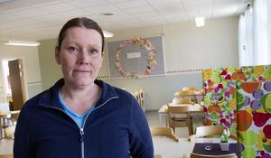 Linda Hansson drog igång en namninsamling för att Malsta skola inte ska läggas ner.