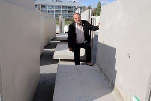 Jan Sahlén konstaterar att nu börjar byggprojekten komma igång i Kramfors.