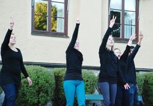 Västanviks folkhögskola framförde sång och poesi på teckenspråk två gånger under kvällen och lockade båda gånger en jublande publik.