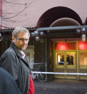 """CHEF FÖR BINGOHALLEN. """"Personalen var givetvis uppskakad men tog det som hänt oerhört bra"""", säger Bernt Mollstedt, chef för bingohallen i Sandviken."""