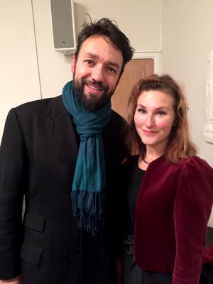 Dagens höjdpunkt! Annika Östman och Marco FonsecaFotograf: Styrelsen