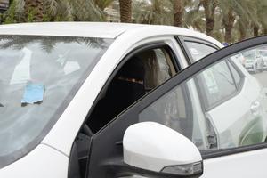Saudiska kvinnor fick den 24 juni rätt att köra bil.Foto: Sofia Eriksson/TT