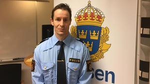 Foto: PolisenStefan Johansson är glad åt sin nya chefstjänst och hans mål är nu att måna om de lokala poliserna samt jobba mot de lokala problembilder som finns i lokalpolisområde Norra Västmanland.