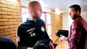 Andreas Brännström kommer allt närmare ett avslut med Dalkurd. Bild: Ulf Palm/TT.