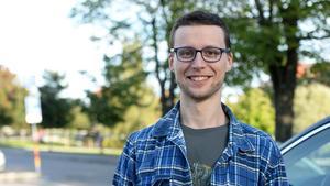 Luca Beltramelli, 28, student, Sundsvall.
