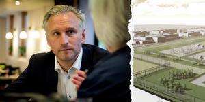Den hemliga spekulanten har dragit sig ur. – Det är klart att jag är besviken, säger kommunalrådet Jörgen Edsvik, S.