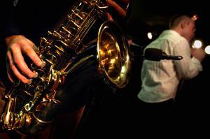 Saxofonen blev Börje Fredrikssons instrument. Bild: Fredrik Persson/Scanpix