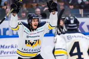 Sebastian Wännström byter HV71 mot Leksand till nästa säsong. Foto: Bildbyrån