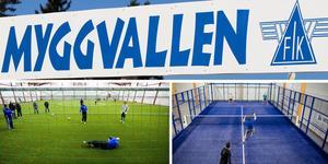 Tankarna på en inomhushall för fotboll och padel blir offentliga i mars 2019.