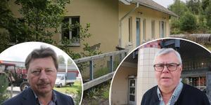 Byalagets vice ordförande Ingemar Hellström och VB Krafts ordförande, Ove Boman, har för avsikt att nå en uppgörelse om den gamla tvättstugan i Södra Hällsjön.