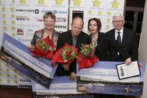 Marianne Bjarneskans (Grisslehamns SK), Lise-Lott Isaksson (Blidö IF) och Thomas Zetterqvist (Norrtälje Bordtennisklubb) prisade för sina insatser som ungdomsledare.