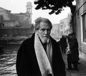 Ezra Pound 1963. Foto: Walter Mori