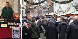 Även om det är Anders Möllers rabarberglögg som säljer mest, så är det hans chilihonung som får honom utslängd från Wadköpings julmarknad.