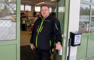 Björn Cato Bunes tog över som vd på Söderhamnsföretaget Incorent AB i januari, men har inte gått in med kapital.
