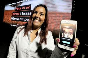 Caroline Chamat ser fram emot att dra igång karaoken på onsdagar med det nya app-systemet.