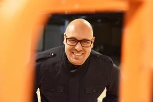 Markus Westman, förvaltare på Diös, ser fram emot premiären av den nya restaurangen.
