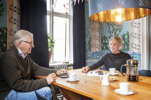 Erik Söderberg och dottern Lisa Knape har jobbat med ansökan till Inspektionen för vård- och omsorg , IVO, under sommaren.