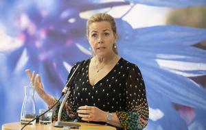 Cecilia Wikström (L) skulle ha toppat Liberalernas lista till Europaparlamentsvalet, var det tänkt. Foto: Per Groth/TT