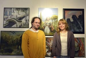 Herman Englund och Tiee Granholm ställer ut tillsammans hos Galleri Granen.