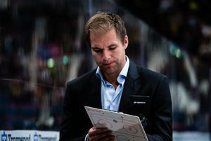 Tomas Mitell fick se sitt lag förlora för första gången för säsongen. Kenta Jönsson / Bildbyrån